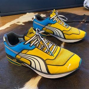 Puma Toori Run Y 'Spectrum Yellow Blue' 186553 01